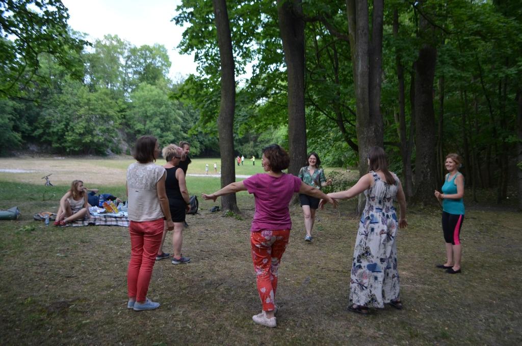 Tańce w Parku Bednarskiego